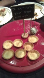 mini pies de-constructed